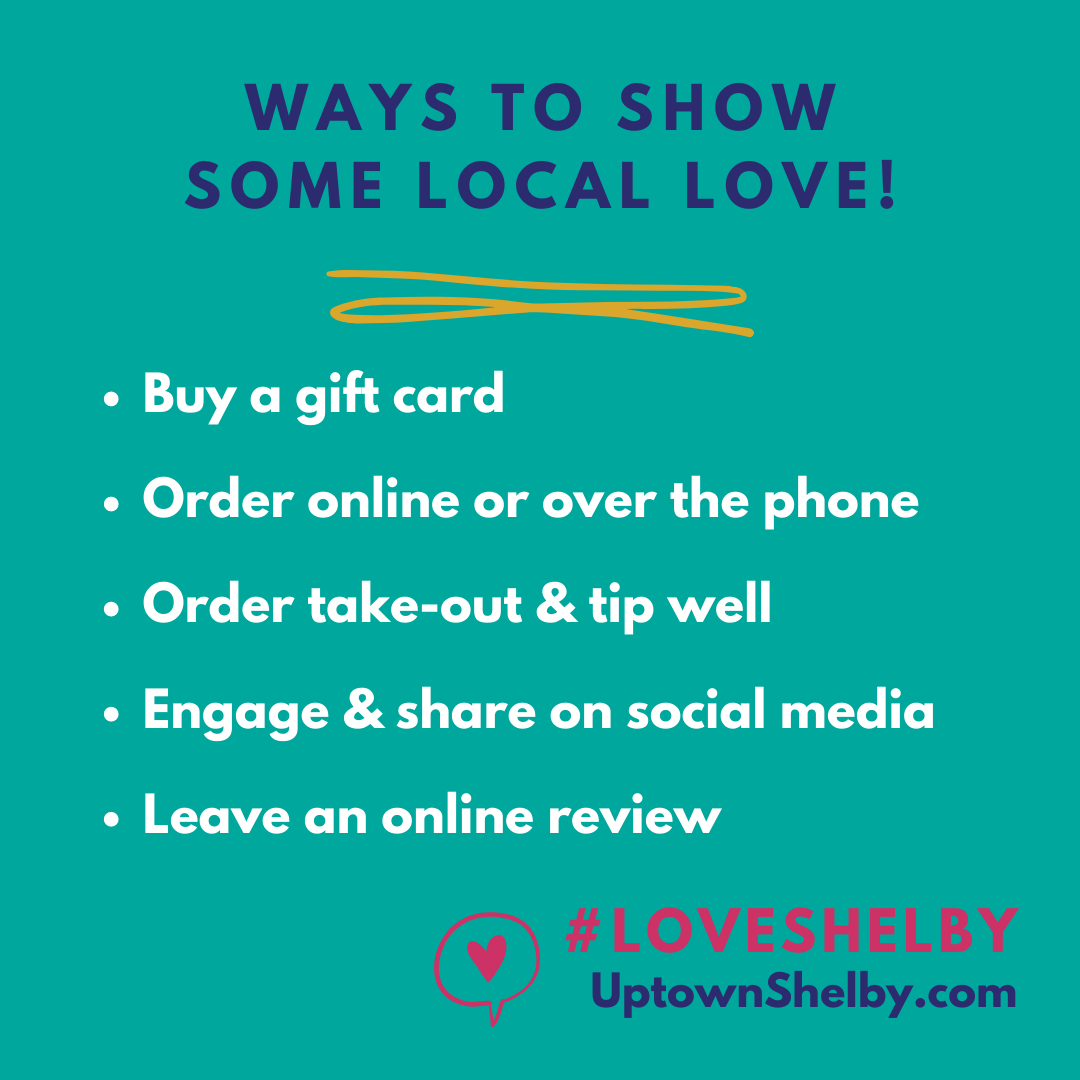 ways to show local love_Uptown Shelby